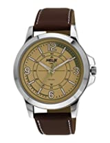 Helix Analog Green Dial Men's Watch - TW023HG02
