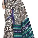 Multi Printed Mysore Art Silk Sari Saree With blouse piece