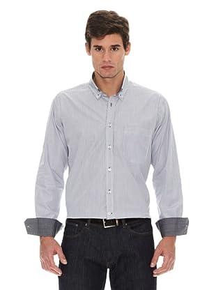Turrau Camisa Cuadro Classic Bicolor (Negro / Gris)
