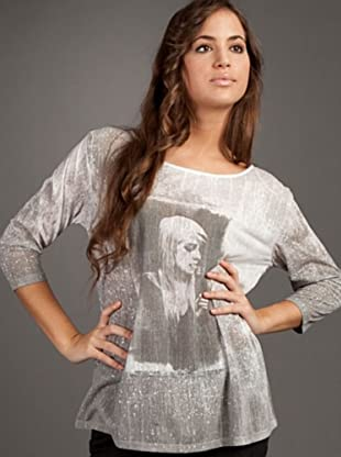 Ikks Camiseta Print (blanco)