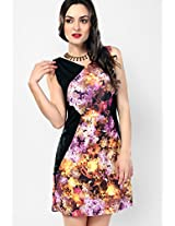 Multi Floral Shift Dress