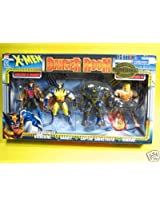 X Men Danger Room Collectors Edition Exclusive 4 Pack