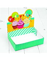 Sweet Creations 12 Cup Cupcake Carrier and Display Box