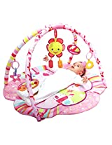 Mastela Pink Flower Park Baby Activity Play Gym Padded Play Mat - For Baby Infants & Toddlers