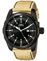 Invicta Analog Black Dial Men's Watch - 19566