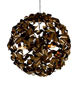 Varaluz Pinwheel 3-Light Pendant, Chocolate Bronze