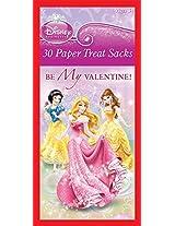 Paper Magic Valentine Treat Bags Disney Princess (30 Count)