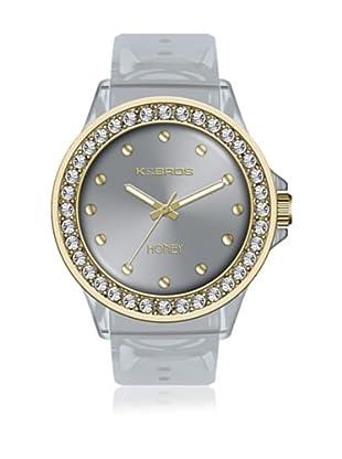 K&Bros  Reloj 9575 (Gris)