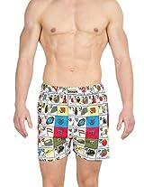 Gabi Men's Boxer Shorts (+Color_White_Medium)