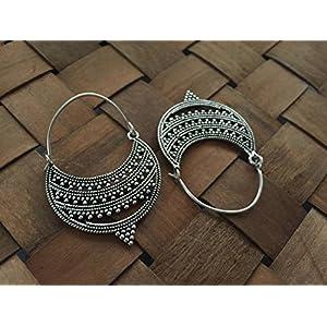 The Desi Soul Dotted Baalis Earrings