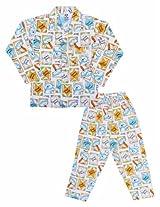 Fido Teddy Print Nightsuit With Pyjama