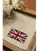 Downton Abbey Placemat Set of 4 (14 X 20 ) Natural From the Union Jack Collection