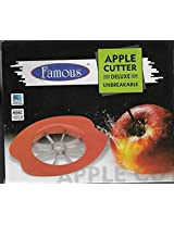 FAMOUS Apple Cutter Apple Slicer Cuts Equally corer cuts Apple into 6-8 pieces