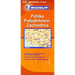 Poland South West (Michelin Regional Maps)