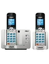VTech VTDS6511-2 Dect 6.0 2-Handset Connect-To-Cell Cordless Phone System with Caller ID/Call Waiting