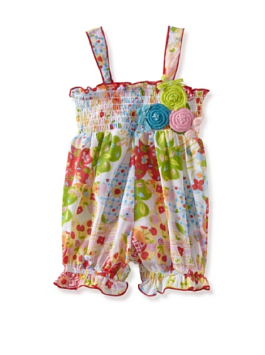 Baby Nay Smocking Balloon Romper (Summer Time)