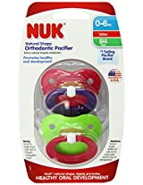 Gerber Nuk Newborn Orthodontic Pacifier Latex Size1 - 2 ea-Colors Vary
