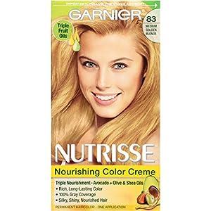 Garnier Nutrisse Nourishing Color Crème, Medium Golden Blonde
