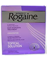 Rogaine Hair Regrowth Treatment for Women 2 Ounce (Pack of 3)