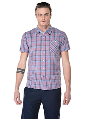 55DSL Camisa Subiton (Rosa / Azul)