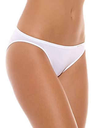 UNNO Braguita Bikini Pack x 6 Talle Bajo (Blanco)