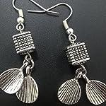 Grey Non-Precious Metal Base Metal Fashion Dangle & Drop Earring