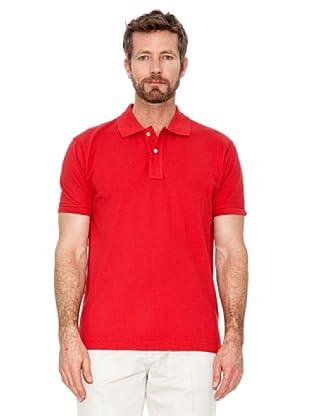 Cortefiel Polo Vintage (Rojo)