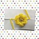 Crochet hand made rakhi