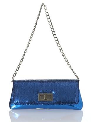 Lola Casademunt Bolso Tapa Brillantes (Azul)