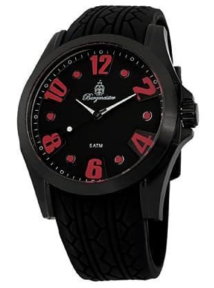 Burgmeister Herren-Armbanduhr XL Analog Quarz Silikon BM606-622C