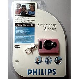 PHILIPS P44417P DIGITAL CAMERA PINK KEYCHAIN