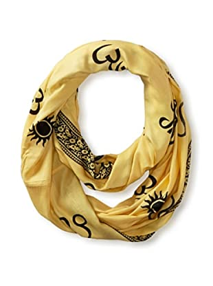 Sir Alistair Rai Women's Zodiac Circle Scarf, Leo, One Size