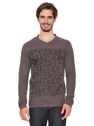 Desigual Camiseta Fermin Out (Gris)