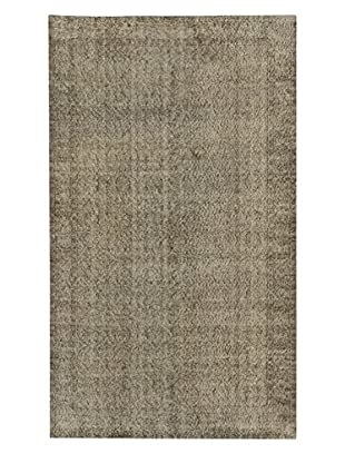 eCarpet Gallery One-of-a-Kind Hand-Knotted Anatolian Rug, Grey, 5' 6