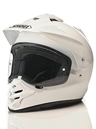 Shoei Casco Hornet-Ds Monocolor (Blanco)