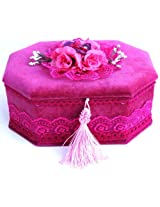 Floral Box, pink