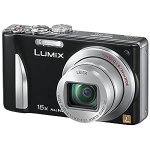 Panasonic Lumix DMC-TZ25 12.1 MP Point-and-Shoot Digital Camera (Black)
