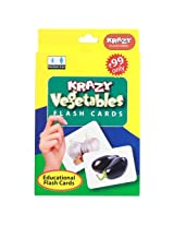 Krazy Vegetables Mini Flash Cards