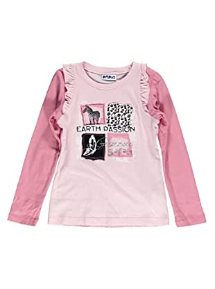 Camiseta Manga Larga Safari (Rosa)