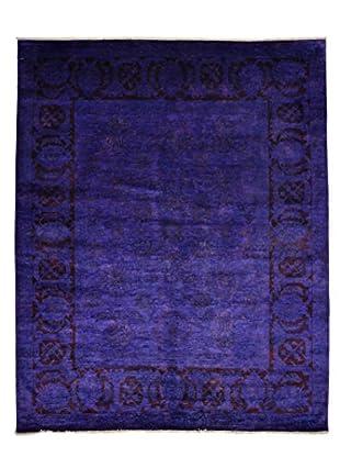 Darya Rugs Modern Oriental Rug, Plum Purple, 8' 3