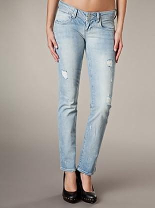 LTB Jeans Clay Straight Leg Low Rise (Hellblau)
