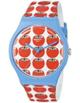 Swatch Women's SUOS102 Analog Display Swiss Quartz Multi-Color Watch