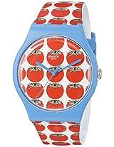 Swatch Women's SUOS102 Analog Display Swiss Quartz Multi-Color Watch