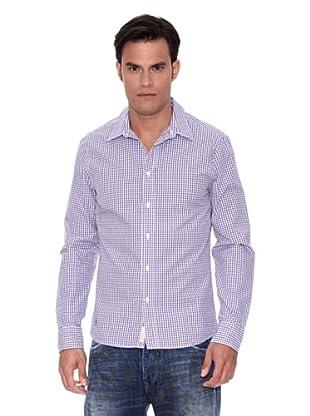 Pepe Jeans London Camisa Upton (Morado / Blanco)