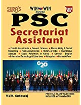 PSC Secretariat Assistant Exam Book