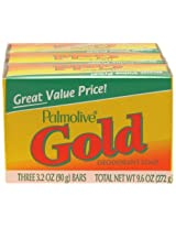 Palmolive Bath Bar Soap Gold 9 Count AD