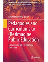 Pedagogies and Curriculums to (Re)imagine Public Education: Transnational Tales of Hope and Resistance (Cultural Studies and Transdisciplinarity in Education)