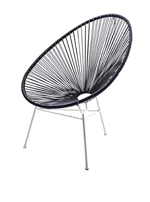 Kare Design Silla Bahia Negro