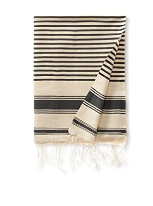 Fouta Bath Towel, Aztec Grey