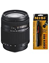 Sony DT 18-250mm f/3.5-6.3 Telephoto Zoom Lens for Sony Digital SLR + Nisi Pro LensPen Lens Cleaner